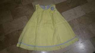 Periwinkle Yellow Dress