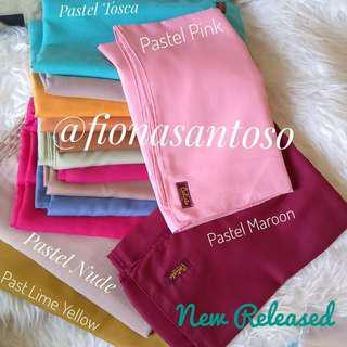 Premium Pastel Cotton Square Hijab