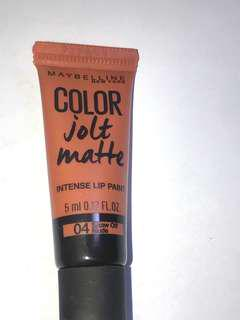 Maybelline COLOR jolt matte intense lip paint
