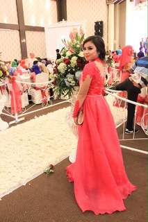 Gown pink