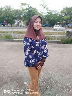 Floral blouse #paywithboost