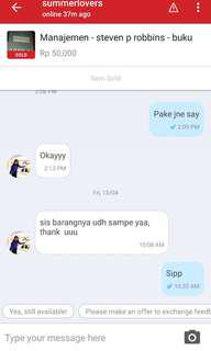 Testimoni // trusted seller and buyer