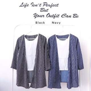 STRIPE FAKED OUTER