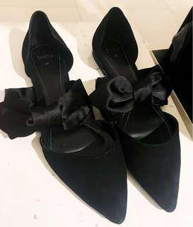 Bershka Black dollshoes