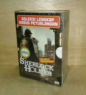 BOXET SHERLOCK HOLMES (Kumcer) isi 4 buku