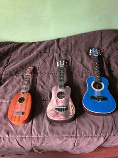 $20 FOR ALL BROKEN UKES