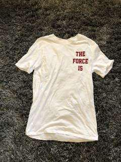 the force is female brand new nike tee