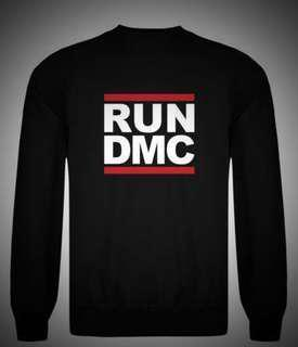 Run DMC crew neck sweater