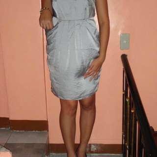 People Are People Grey Dress