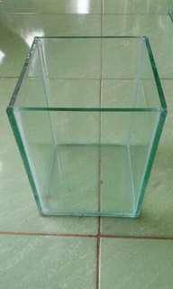 Soliter (aquarium kaca) ukuran 15x15x20