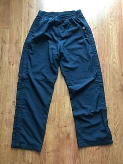Vintage Navy Blue Women's Champion Premium Tearaway Pants