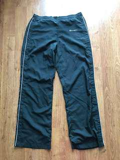 Vintage Black Women's Champion Premium Tearaway Pants