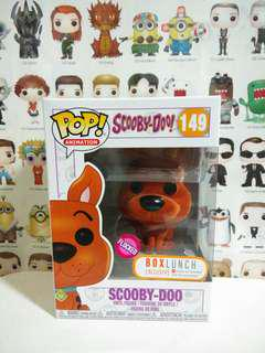 Funko Pop Flocked Scooby Doo Box Lunch Exclusive Vinyl Figure Collectible Toy Gift Movie Cartoon