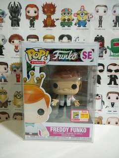 Funko Pop Freddy Jacket Pink F Exclusive Vinyl Figure Limited Edition 5000pcs SDCC Fundays
