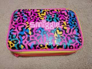 Smiggle double hardtop pencil case