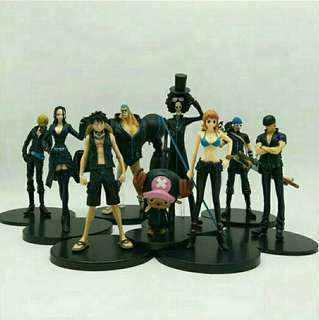 🚚 ONE PIECE 1SET (9PCS)