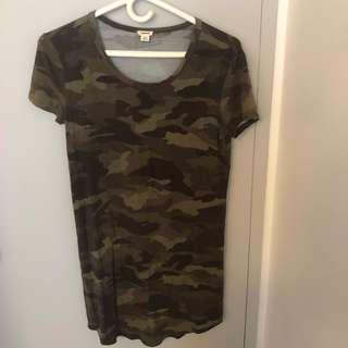 Garage army dress