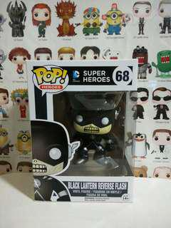 Funko Pop Black Lantern Reverse Flash Vinyl Figure Collectible Toy Gift Movie Comic Super Hero DC