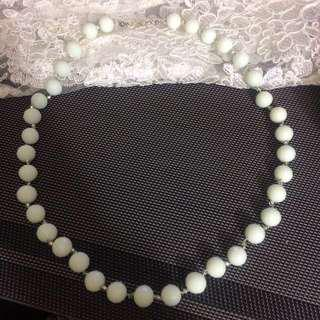SALE!!!! White Necklace