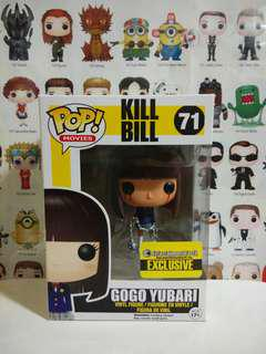 Funko Pop Gogo Yubari Bleeding Eyes Entertainment Earth Exclusive Vinyl Figure Collectible Toy Gift Movie Kill Bill Vaulted Grail