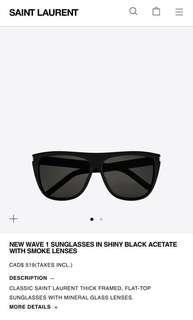 YSL - Sunglasses (authentic)