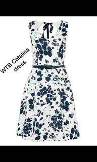 Review size 6 dress Catalina floral dress