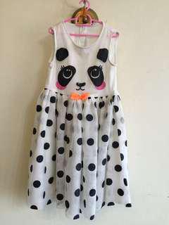 H&M panda dress