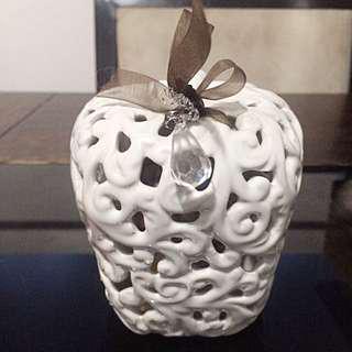Cute Little White Apple