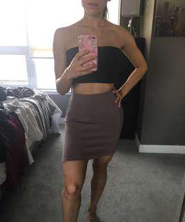 Mauve Bodycon Skirt Size Small