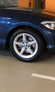 "BMW F20 1 Series stock rims & tyres (16"")"