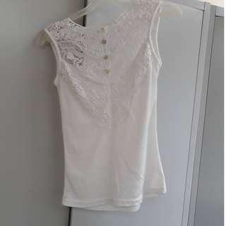 Pre-Loved Lacey Sleeveless