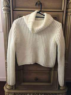 Ava + Ever Turtleneck Knit Crop (Small)