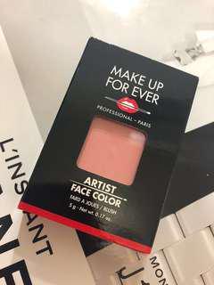 🚚 二手腮紅 可換物MUF腮紅 B208色淺粉紅 淺珊瑚紅 補充包 Make up for ever