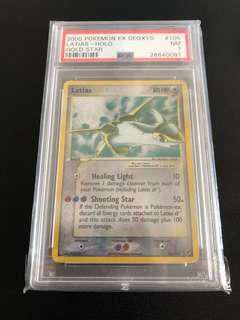 Pokemon Latias Gold Star PSA 7