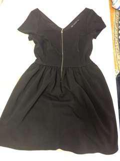 🚚 Zara black classic dress