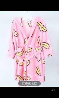 Banana bathrobe