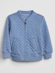 🚚 GAP Toddler Quilted Bomber Jacket