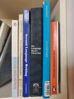 Books for Language, Linguistics, and Teaching