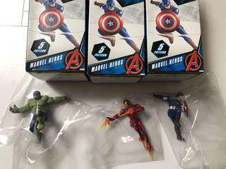 全新正版 Marvel Iron man Captain American Hulk 杯緣子