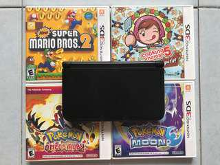 Nintendo 3DS XL with 3 Games Included