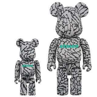 全新正版 只賣 100% Atoms x Be@rbrick Medicom toy