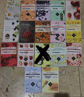 Korean Sheet Mask (beli 5 gratis 1)