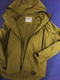 HYSTYL Tactical Green Windbreaker NEW