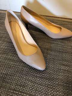 Cole Han Nude Pumps