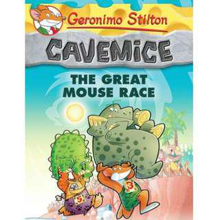 🚚 Geronimo Stilton Cavemice Series Books #5, #6, #7 & #8