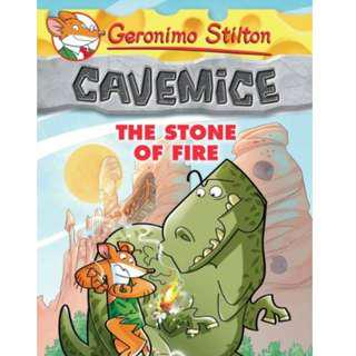 🚚 Geronimo Stilton Cavemice Series Books #1, #2 & #3