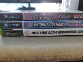 Retro Original XBOX games