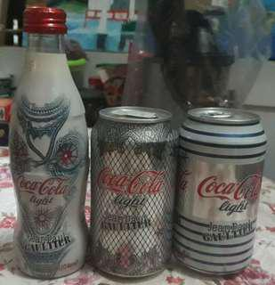 Jean Paul Gaultler Coca-cola Bottle and Cans