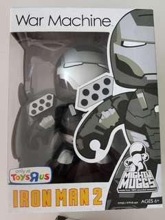 Mighty muggs - iron man war machine and mark VI