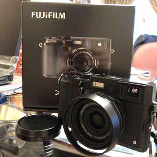 fujifilm 富士 x100s 全黑特別版 全套連配件
